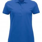 Polo-Femme-Classique-manches-courtes-bleu-roi