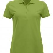 Polo-Femme-Classique-manches-courtes-vert-clair