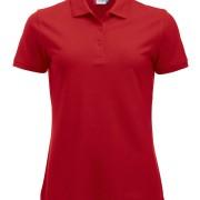 Polo-Femme-Polycoton-rouge