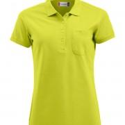 Polo-Femme-avec-Poche-vert