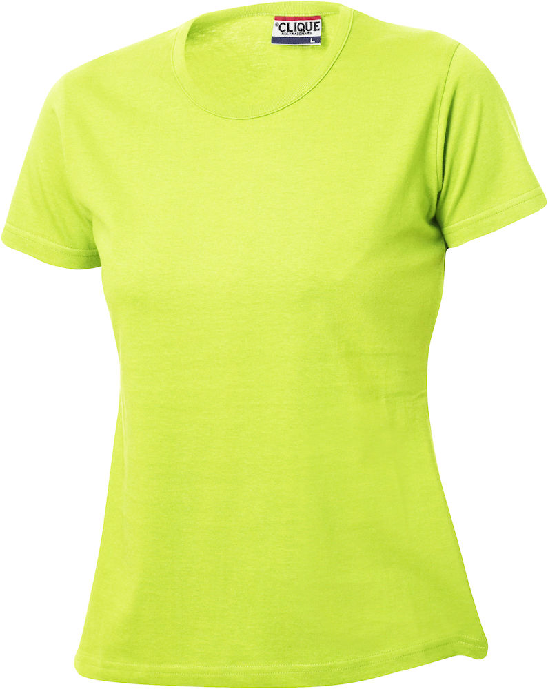 73292dc6335c Tee Shirt Femme Ajuste vert fluo product product classic