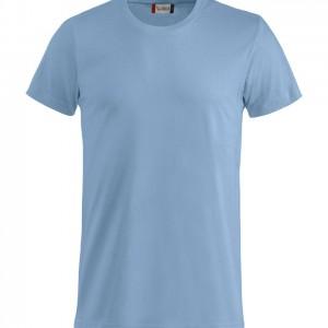 Tee Shirt Unisexe Basique bleu clair