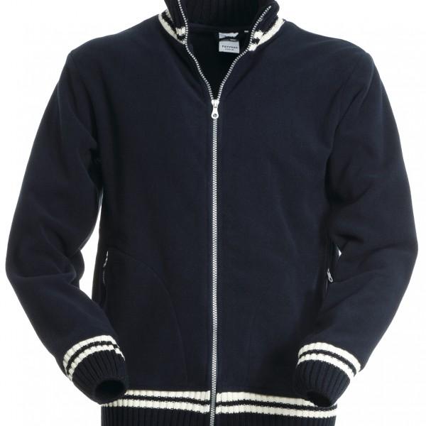 Polaire extrémités tricot marine