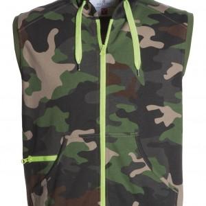 Sweat sans manche Homme camouflage