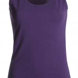 Tee shirt Femme encolure ronde violet