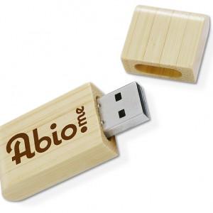 Clé USB écolo bambou
