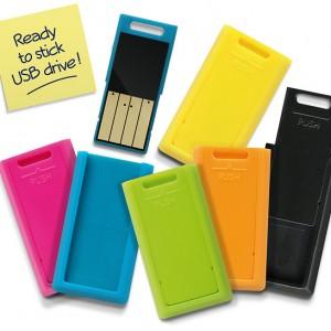 Clé USB étiquette