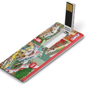 Clé USB carte 3
