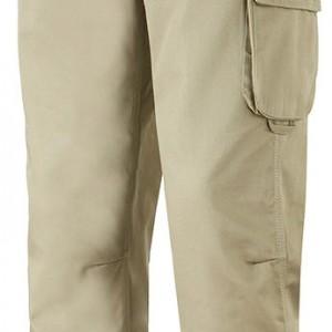 Pantalon multipoches renforcées beige