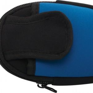 Housse 2 poches bleue