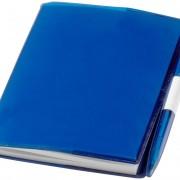 bloc-notes-plastique-bleu