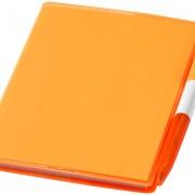 bloc-notes-plastique-orange