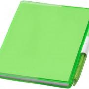 bloc-notes-plastique-vert
