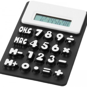 calculatrice souple noire