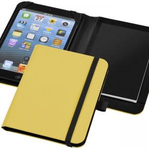 conférencier tablette jaune