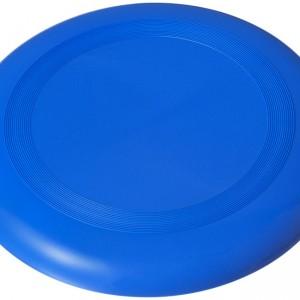 frisbee plastique bleu