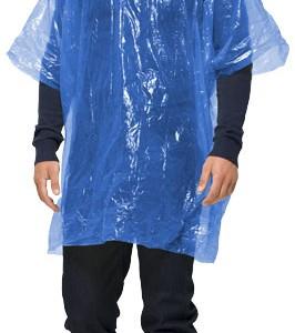 imperméable transparent porté