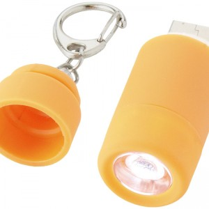 mini lampe chargeur orange