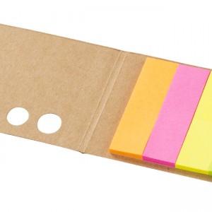 mini note autocollante beige