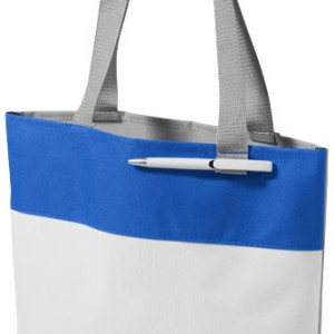 sac shopping haussman bleu