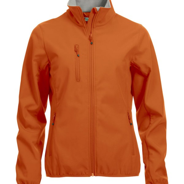 Veste softshell basique orange