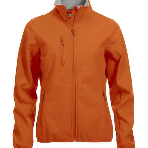 Veste softshell basique orange